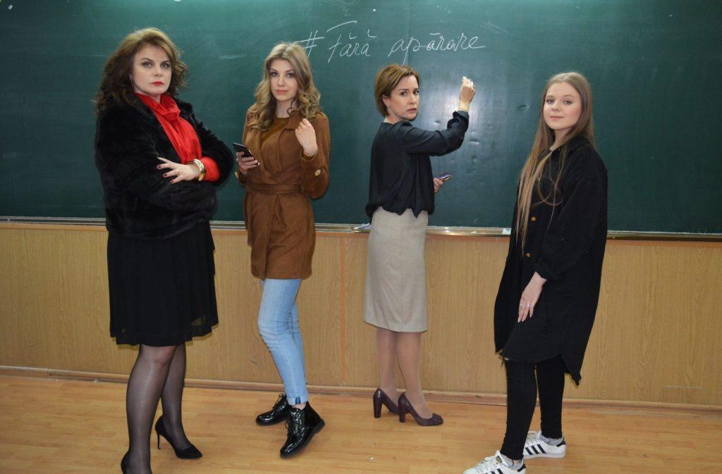 SANS DEFENSE / #FĂRĂAPĂRARE